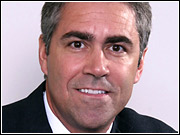 Richard F. Zannino, CEO of Dow Jones and a chief architect of its acquisition