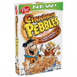 new Cinnamon Pebbles package