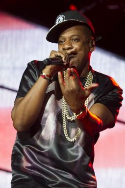 Jay-Z performs at the 2012 'Made in America' festival.