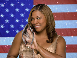 Queen Latifah was the host of the 2008 People's Choice Awards show, which, thanks to the writers strike, aired not quite as P&G Productions had envisioned.