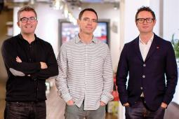 Adam & Eve DDB co-founders James Murphy, Ben Priest, David Golding (not pictured: Jon Forsyth)