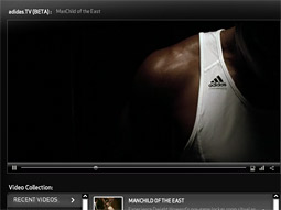 Adidas launched a beta version of Adidas.TV on its basketball website.