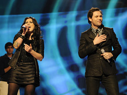 More people tuned in to watch last season's Idols Carly Smithson, Michael Johns and the rest of this season's 'American Idol' contestants than for any other show.