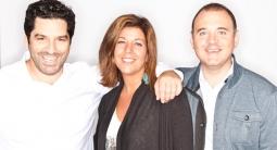 From left: Mullen Chief Creative Officer Mark Wenneker; Chief Strategy Officer Kristen Cavallo; President Alex Leikikh.