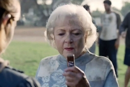 Betty White, who appeared in the 2010 ad, is not coming back.
