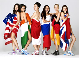 Reebok's EasyTone campaign features the 'Reetoners,' a group of seven women who hail from a variety of countries.