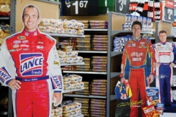 Walmart and Target spends millions of marketing dollars each year to reach NASCAR fans.