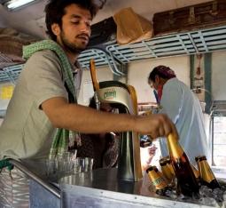 Cobra brewmaster in TV spot