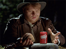 Scene from Dr Pepper's 'Everyday Indy' spot