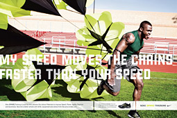 Direct attack? Many thought this Nike ad was aimed at Under Armour.