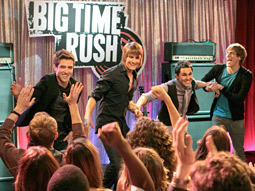 'BIG TIME RUSH' Nickelodeon hopes tween-oriented shows such as this one will give it a boost.