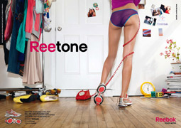 BUM DEAL: Reebok has benefited from its fun approach to selling its toning sneakers.