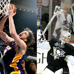 NBA Finals and Stanley Cup
