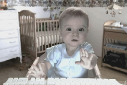 The famous E-Trade 'talking baby'
