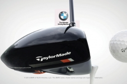 TaylorMade's R1 driver showed up in BMW ad.