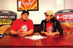 Tom and Chee founders Trew Quackenbush, left, and Corey Ward