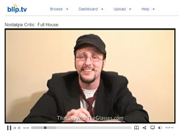 Mike Michaud, founder of Channel Awesome, said he made $32,000 last quarter in ad revenues from 'Nostalgia Critic,' a show on blip.tv.