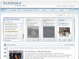 Pandora has 30 million registered users and 4 million monthly unique listeners.