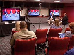 ESPN's Chuck Pagano and Chris Berman talk technology.