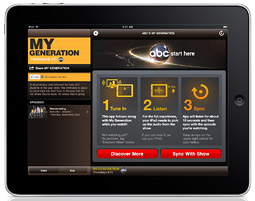 ABC's 'My Generation Sync' iPad app