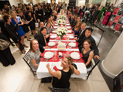 Macy's Coming Together launch dinner party at Macy's Herald Square in New York