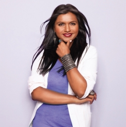 Mindy Kaling, star of Fox's upcoming 'The Mindy Project,' boasts 1.9 million Twitter followers.