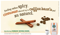 FEVER FOR THE FLAVOR: The primary target for the Natural Fusions line will be Starbucks customers who are going elsewhere for flavored coffees.