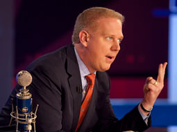 GLENN BECK: The Fox News Channel talking head touched off a storm of controversy when he called President Barack Obama a 'racist' who has a 'deep-seated hatred for white people.'