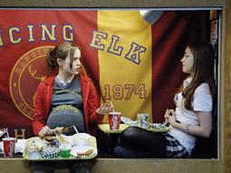 Big-screen allure: Movies like 'Juno' draw crowds as writers strike lingers.