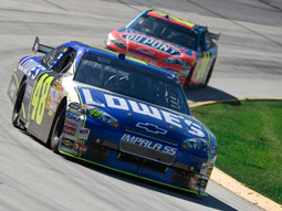 Race relations: Almost one-third of Nascar's cars lack sponsors.