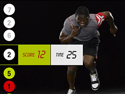 Dish DVR users will be able to click into 30- and 60-second TV spots starring San Diego Chargers running back LaDanian Tomlinson and other fleet-footed Nike athletes.
