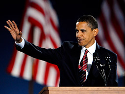Barack Obama eschewed the recent history of his party and instead invoked the approaches of great political brands of the past.
