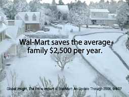 Consumers are paying less, but they don't necessarily have to shop at Wal-Mart to do so.