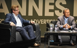 Unilever's Keith Weed (l.) and WPP's Martin Sorrell