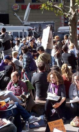 Wall Street Occupiers
