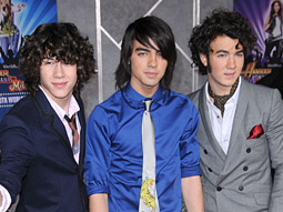 The Jonas Brothers' new album has sold more than 1 million copies.