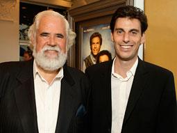 SONY'S SECRET: Marketing execs Jeff Blake (l.) and Marc Weinstock.