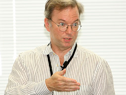 Google CEO Eric Schmidt: 'We don't do content. You all create content.'