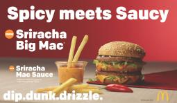 The new Sriracha Big Mac is being tested in a limited number of outlets.