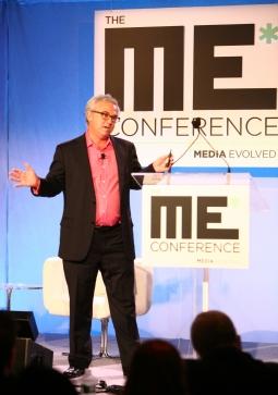 Flipboard's Josh Quittner speaks at Ad Age 's Media Evolved Conference Nov. 15