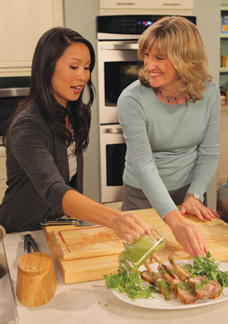 'From the Kitchens of ' host Brigitte Nguyen.