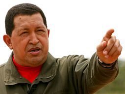 WORKING UNDER A GAG LAW: In 2004, Hugo Chavez created a law that allows for the censorship of media and the revocation of licenses.