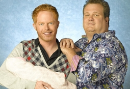 'Modern Family' features a same-sex couple with an adopted baby.