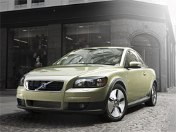 Despite new lineup that includes the C30, Volvo's sales are down.