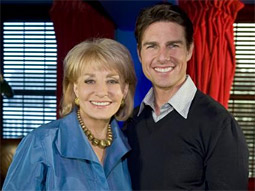 Tom Cruise took the No. 2 spot on Barbara Walters' annual list of the '10 Most Fascinating People.'