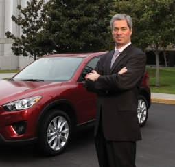 Mazda Marketing Chief Russel Wager