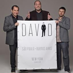 David founders Gaston Bigio, Fernando Musa and Anselmo Ramos