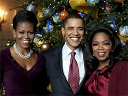 Oprah's Christmas White House special notched a 2.8/7 rating and share in the adult 18-49 demographic.