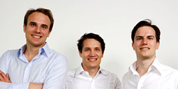 The Samwer brothers, Marc, Oliver and Alexander, sold CityDeal to Groupon.