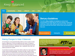 Yum's Keep It Balanced is part of an effort to help consumers manage their weight.